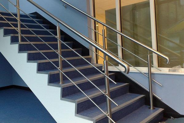 Barandillas De Acero Inoxidable Para Escaleras Interiores Al Mejor - Barandillas-para-escaleras-interiores