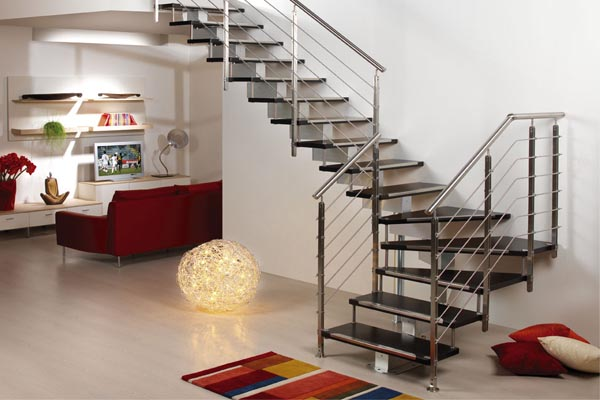 Escaleras Metalicas En Pamplona Navarra Ibarkalde Sl - Diseo-escaleras-interiores