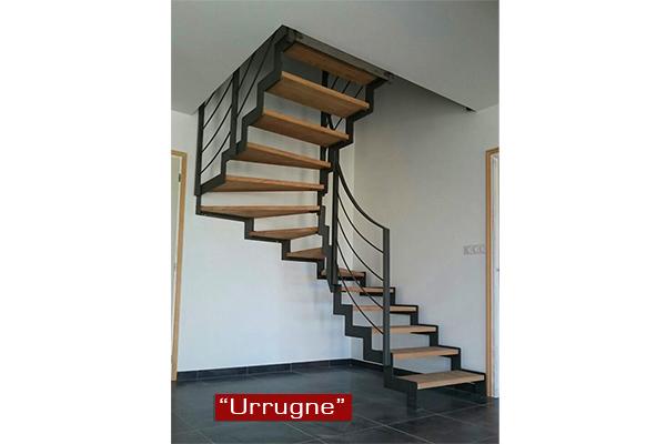 Escaleras de interiores en gipuzkoa ibarkalde s l for Escaleras metalicas exteriores precios